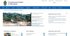 Anglican Church of Melanesia Launches Official Website