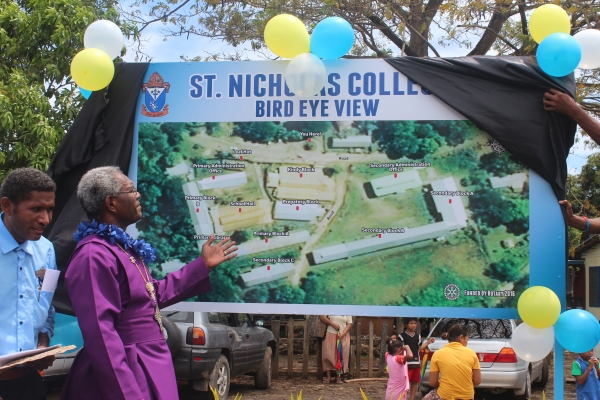 Unveiling of St. Nicholas College compound