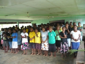 Students of Bp. Naramana Vocation Training Centre at Garanga
